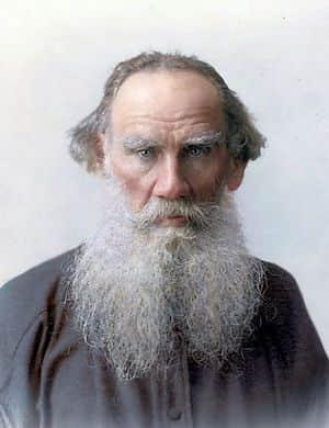 Тесты по литературе, Лев Толстой